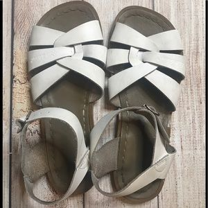 Salt-Water Sandals by Hoy White Size 3